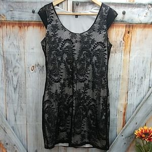 NWOT EXPRESS Pull Over Lacey Shift Dress